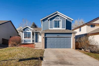 Highlands Ranch Single Family Home Under Contract: 8851 Miners Place