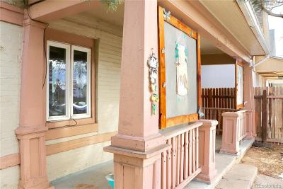 Denver Single Family Home Active: 209 East 45th Avenue