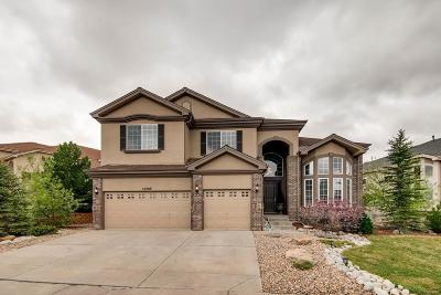 Castle Pines Single Family Home Under Contract: 12380 Tapadero Way