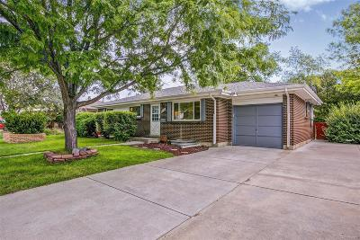 Arvada Single Family Home Active: 6028 Quail Court