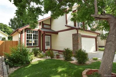 Broomfield Single Family Home Under Contract: 4265 Hawthorne Drive