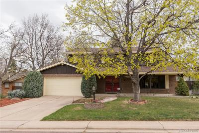 Aurora CO Single Family Home Under Contract: $410,000