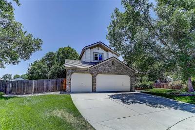 Littleton Single Family Home Active: 6862 West Friend Place