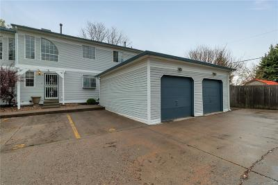 Arvada Condo/Townhouse Under Contract: 5144 West 61st Drive #3