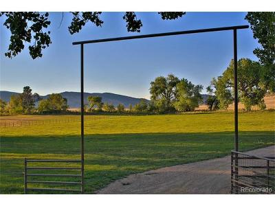 Longmont Residential Lots & Land Active: 6315 Ute Highway