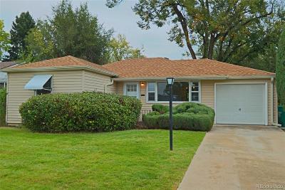 Littleton Single Family Home Active: 5178 South Sherman Street