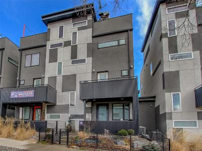 Denver Condo/Townhouse Under Contract: 2570 Clay Street