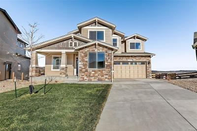 Castle Rock Single Family Home Active: 360 Sage Grouse Circle