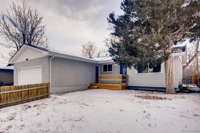 Denver Single Family Home Active: 2610 West Florida Avenue