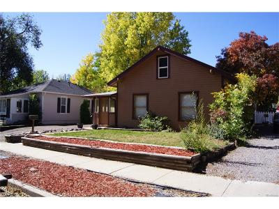 Littleton Single Family Home Active: 5979 South Bemis Street