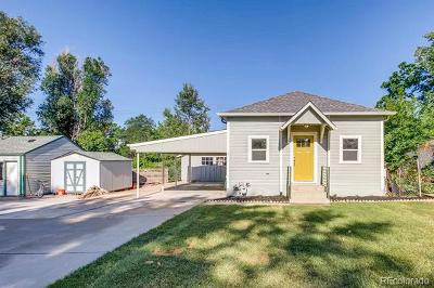 Aurora, Centennial, Denver, Englewood, Greenwood Village, Arvada, Broomfield, Edgewater, Evergreen, Golden, Lakewood, Littleton, Westminster, Wheat Ridge Single Family Home Active: 4615 South Grant Street