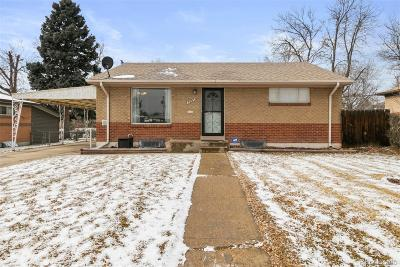 Denver Single Family Home Active: 7693 Raritan Street