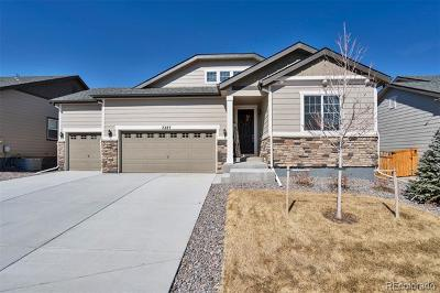 Castle Rock Single Family Home Active: 7287 Greenwater Circle