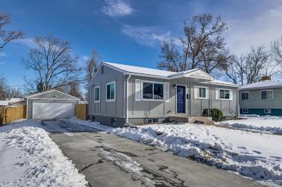Arapahoe County Single Family Home Active: 6550 South Cedar Street
