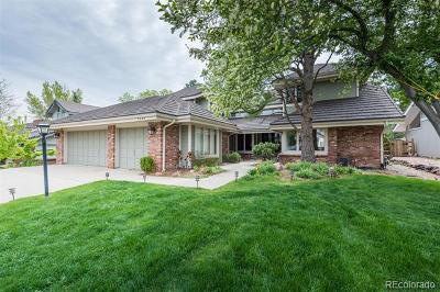 Centennial Single Family Home Active: 7852 South Glencoe Way