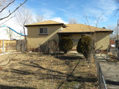 Commerce City Single Family Home Under Contract: 7160 Cherry Street