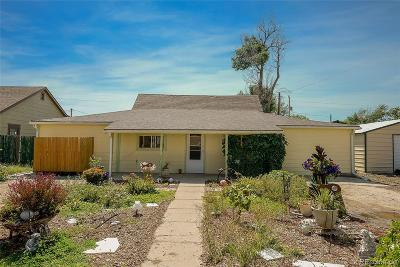 Deer Trail Single Family Home Active: 345 2nd Avenue
