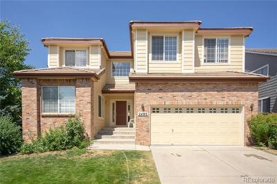 Aurora Single Family Home Active: 2480 South Biscay Court
