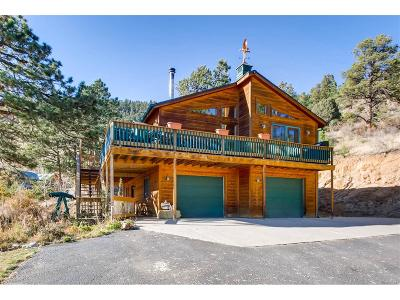Park County Single Family Home Under Contract: 83 Elk Lane