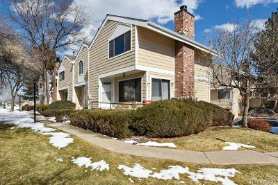 Arvada Condo/Townhouse Under Contract: 6865 West 84th Way #19