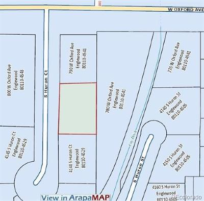 Englewood Residential Lots & Land Active: 4130 South Huron Court