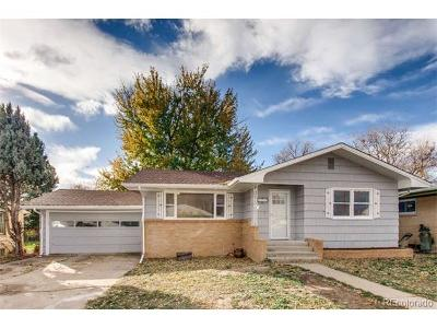 Longmont Single Family Home Active: 1333 Lincoln Street