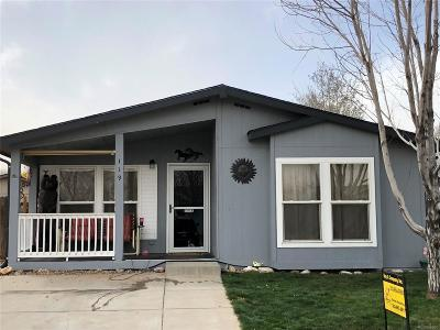 Lochbuie Single Family Home Under Contract: 119 Wenatchee Street