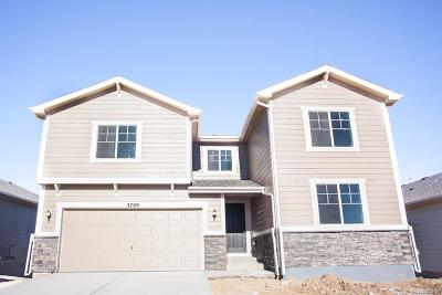 Castle Rock Single Family Home Under Contract: 3709 White Rose Loop