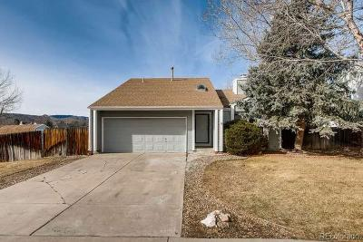 Littleton Single Family Home Under Contract: 6065 South Taft Way