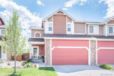 Castle Rock Condo/Townhouse Under Contract: 1745 Valley Oak Court