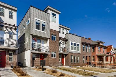 Denver Condo/Townhouse Active: 1747 Vine Street
