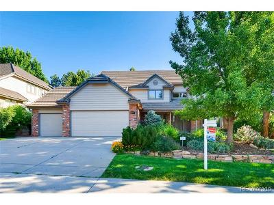Englewood Single Family Home Active: 10457 East Crestline Place