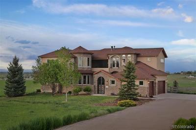 Berthoud Single Family Home Active: 2830 Center Ridge Drive