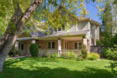 Single Family Home Under Contract: 2474 South Fillmore Street
