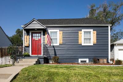 Denver Single Family Home Active: 2635 South Cherokee Street