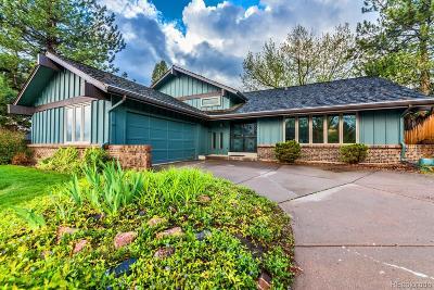Centennial Single Family Home Under Contract: 6455 South Niagara Court
