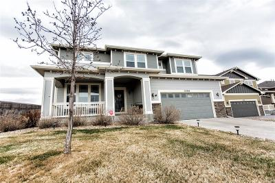 Castle Rock Single Family Home Under Contract: 2588 Fairway Wood Circle