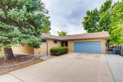 Northglenn Single Family Home Under Contract: 10969 Larry Drive