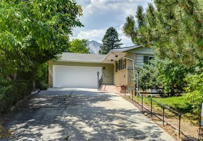 Boulder CO Single Family Home Active: $825,000