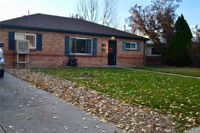 Thornton Single Family Home Under Contract: 8981 Hickory Place