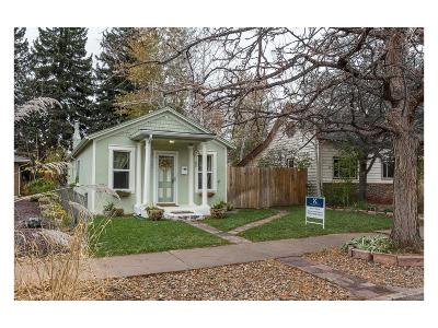 Denver Single Family Home Active: 3930 Osceola Street