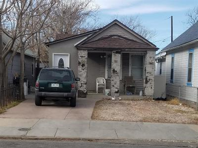 Denver CO Single Family Home Active: $249,000