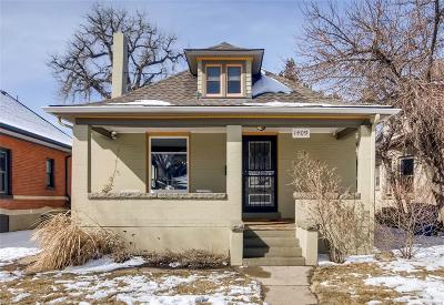 Single Family Home Under Contract: 1409 South Grant Street
