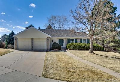 Arapahoe County Single Family Home Active: 7254 East Hinsdale Place
