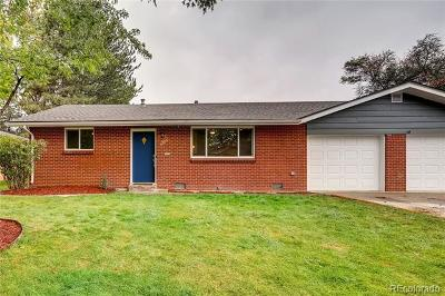 Wheat Ridge Single Family Home Under Contract: 4705 Garland Street
