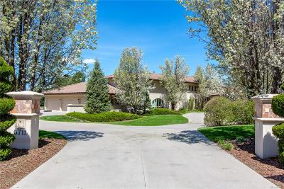 Cherry Hills Village CO Single Family Home Active: $3,995,000