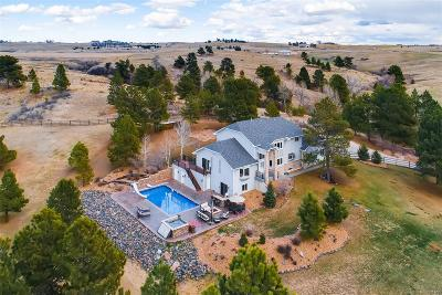Parker Single Family Home Under Contract: 9840 Kiowa Road