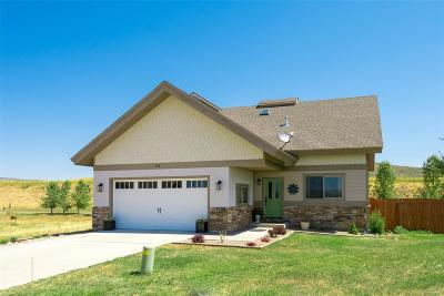 Routt County Single Family Home Under Contract: 950 Dry Creek South Road