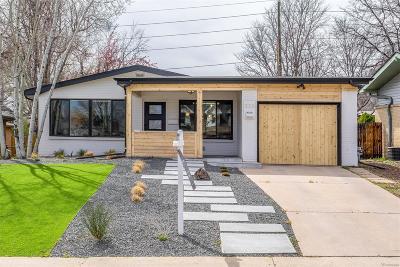 Denver CO Single Family Home Active: $749,900
