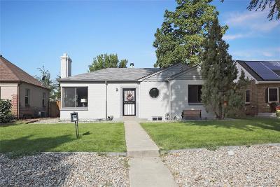 Park Hill, Parkhill Single Family Home Active: 2815 Glencoe Street